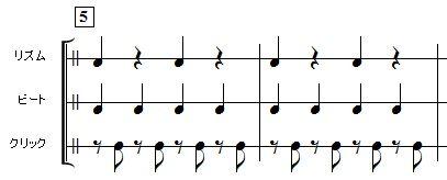 4分音符の練習方法